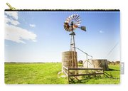 Wind Powered Farming Station Carry-all Pouch