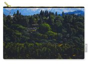 Wind Surfing Mt. Hood Carry-all Pouch by David Lee Thompson