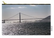 Wind Surfing Under The Bridge Carry-all Pouch