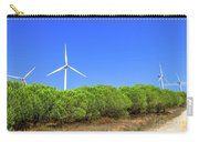 Wind Turbines Landscape Carry-all Pouch