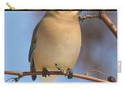 Windblown Waxwing Carry-all Pouch