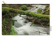 Winding Creek With A Mossy Log Carry-all Pouch