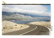 Winding Road In Croatia Carry-all Pouch