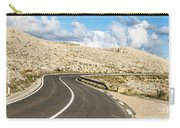 Winding Road On The Pag Island In Croatia Carry-all Pouch