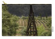 Windmill And Vineyards Carry-all Pouch