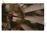 Windmill At Dusk Carry-all Pouch