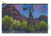 Windmill At Keys Ranch Joshua Tree Carry-all Pouch