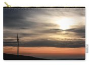 Windmill In Sunrise Carry-all Pouch