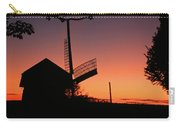 Windmill In The Afterglow. Carry-all Pouch