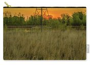 Windmill On The Prairie Carry-all Pouch
