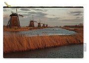 Windmills In The Evening Sun Carry-all Pouch