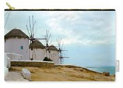 Windmills Of Mykonos I Carry-all Pouch
