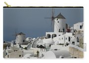 Windmills Of Santorini Carry-all Pouch
