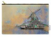 Windmills Of Zaanse Schans Carry-all Pouch