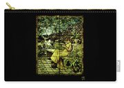 Window - Lady In Garden Carry-all Pouch