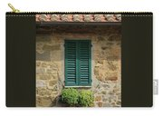 Window #3 - Cinque Terre Italy Carry-all Pouch