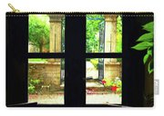 Window And Roses Carry-all Pouch