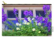 Window Box With Pansies Carry-all Pouch