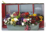 Window Flowers Carry-all Pouch