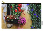Window Garden In Arles France Carry-all Pouch