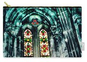 Window In The Lisbon Cathedral Carry-all Pouch