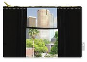 Window Of Downtown Carry-all Pouch
