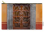 Window On Orange Wall San Miguel De Allende Carry-all Pouch