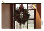 Window Wreath Carry-all Pouch