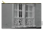 Windows At Cadiz Bw Carry-all Pouch