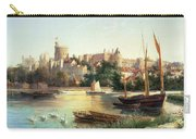 Windsor From The Thames   Carry-all Pouch by Robert W Marshall