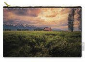 Windstorm On The Prairie Carry-all Pouch