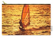Windsurfer At Sunset Carry-all Pouch