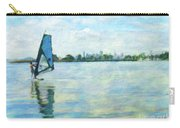 Windsurfing In The Bay Carry-all Pouch