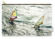 Windsurfing Silver Waters Carry-all Pouch