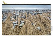 Windswept Grass At Lawrencetown Beach, Nova Scotia Carry-all Pouch
