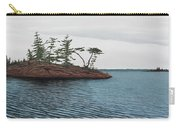 Windswept Island Georgian Bay Carry-all Pouch