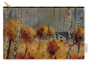 Windy Autumn Landscape  Carry-all Pouch