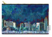 Windy Chicago Illinois Skyline Party Nights 20180516 Carry-all Pouch