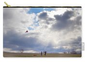 Windy Kite Day Carry-all Pouch by Bill Cannon