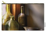 Wine - Three Bottles Carry-all Pouch by Mike Savad