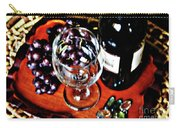 Wine And Dine Carry-all Pouch
