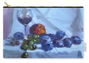Wine And Fresh Fruits Carry-all Pouch