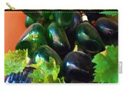 Wine And Grapes Full Circle Carry-all Pouch