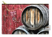 Wine Barrels Carry-all Pouch