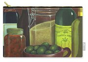 Wine Bottles And Jars Carry-all Pouch