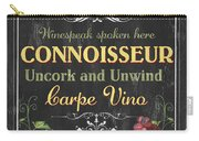 Wine Cellar 2 Carry-all Pouch