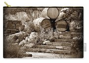 Wine Country Sepia Vignette Carry-all Pouch