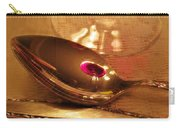 Wine In The Spoon Carry-all Pouch