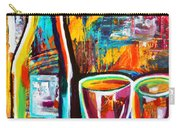 Wine Lovers Abstract Carry-all Pouch