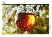 Wine Reflections Square Carry-all Pouch